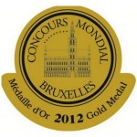 Gold - Concours Mondial de Bruxelles